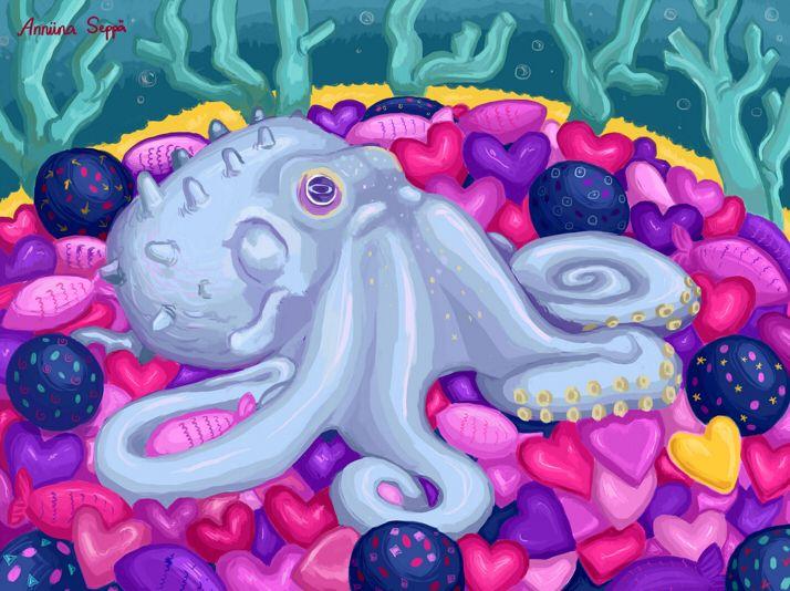 Hoksotin | A free digital jigsaw puzzle for Valentine's Day / Ilmainen digitaalinen palapeli ystävänpäivälle