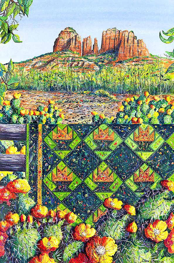 Book Cover Watercolor Quilts : Best diane phalen quilt paintings images on pinterest