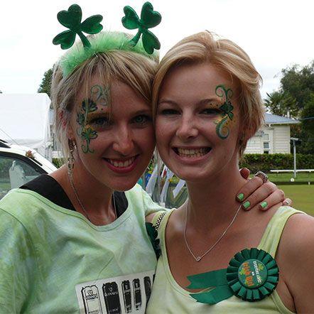 St Patrick's Irish Fair Day 9th March 2014. Gotta love the Irish : )