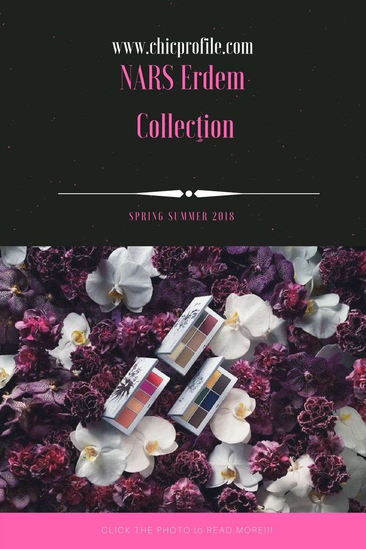 NARS Erdem capsule collection will be hitting counters in late Spring with a totally new packaging than we've seen so far. The branding inspiration comes from Erdem's favourite blue Pantone and everything floral. via @Chicprofile
