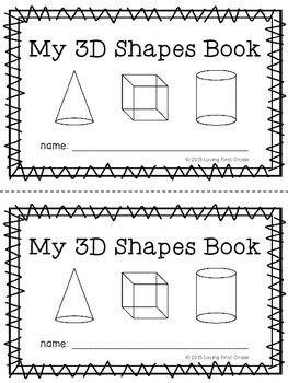 I made this so students can follow along and complete while we made our classroom chart of solid shapes and their attributes. This is a great way to have students engaged and participating during the lesson.