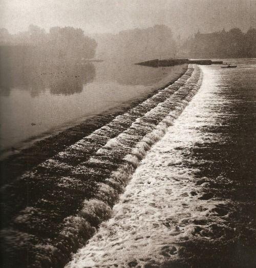 Prague, Vltava river by T.Honty, 60's