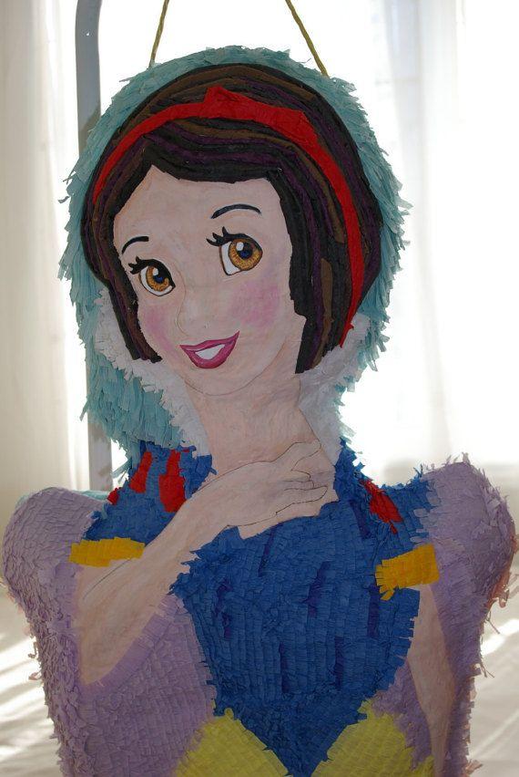 Snow White Piñata by WoWpinatas on Etsy
