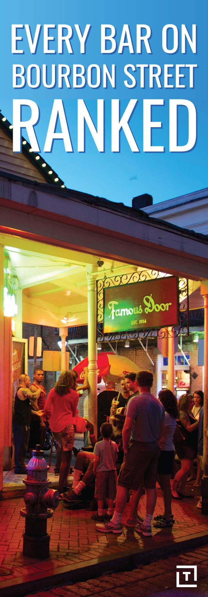 We risked life and liver to rate every bar along New Orleans' best-known street.