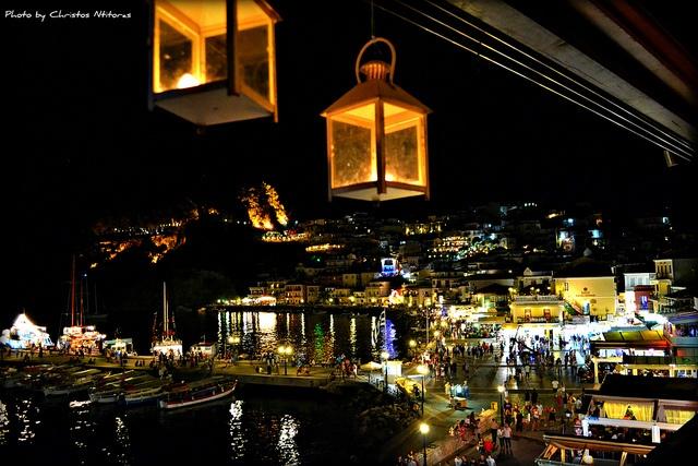 parga by night #greece