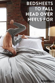 Every great sleep begins with great sheets. Brooklinen has created a whole line of luxuriously comfortable sheets, pillows and comforters that will make your entire bed feel like the cool side of the pillow. Shop them all at Brooklinen.com.
