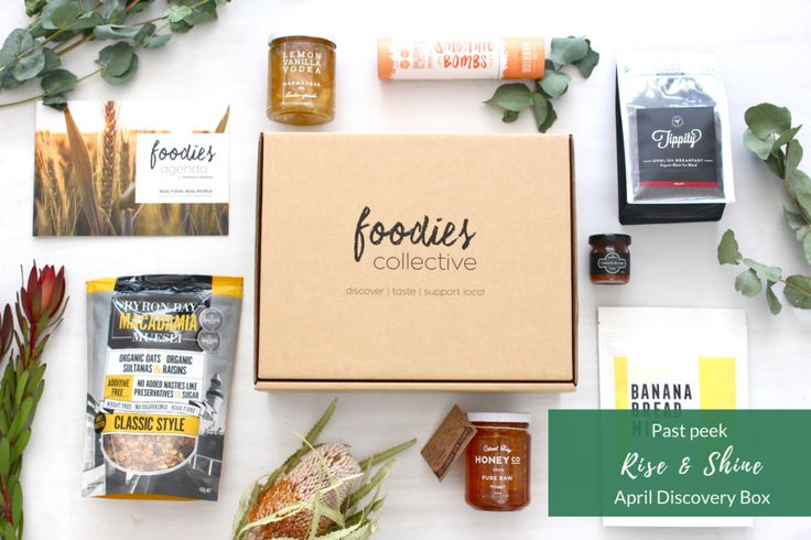 Foodies Collective - April 2017 'Rise & Shine' Discovery Box