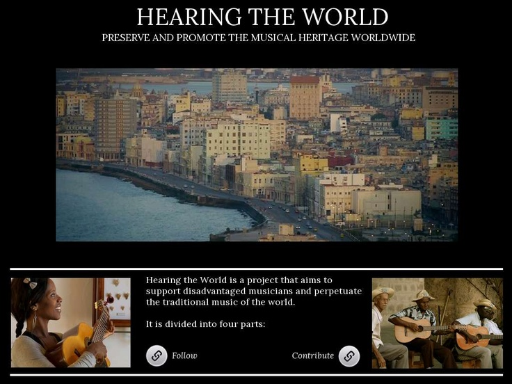 Hearing The World  - Created on Tactilize