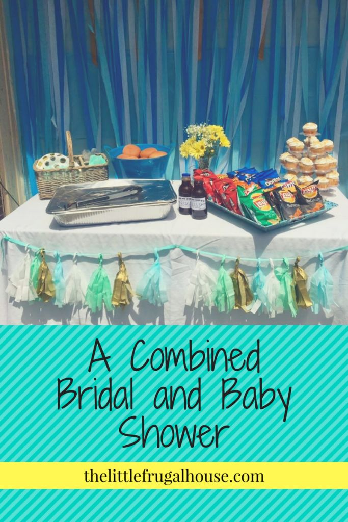 Throwing a combined bridal and baby shower can be tricky, but can be so much fun with these helpful tips and creative ideas!