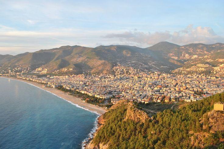 Turkish Coastline. Alanya Turkey