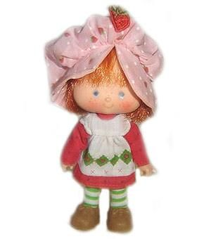 I never played with Strawberry Shortcake dolls, collected them and sat around sniffing the heads all day long. I was addicted to the pear girl.