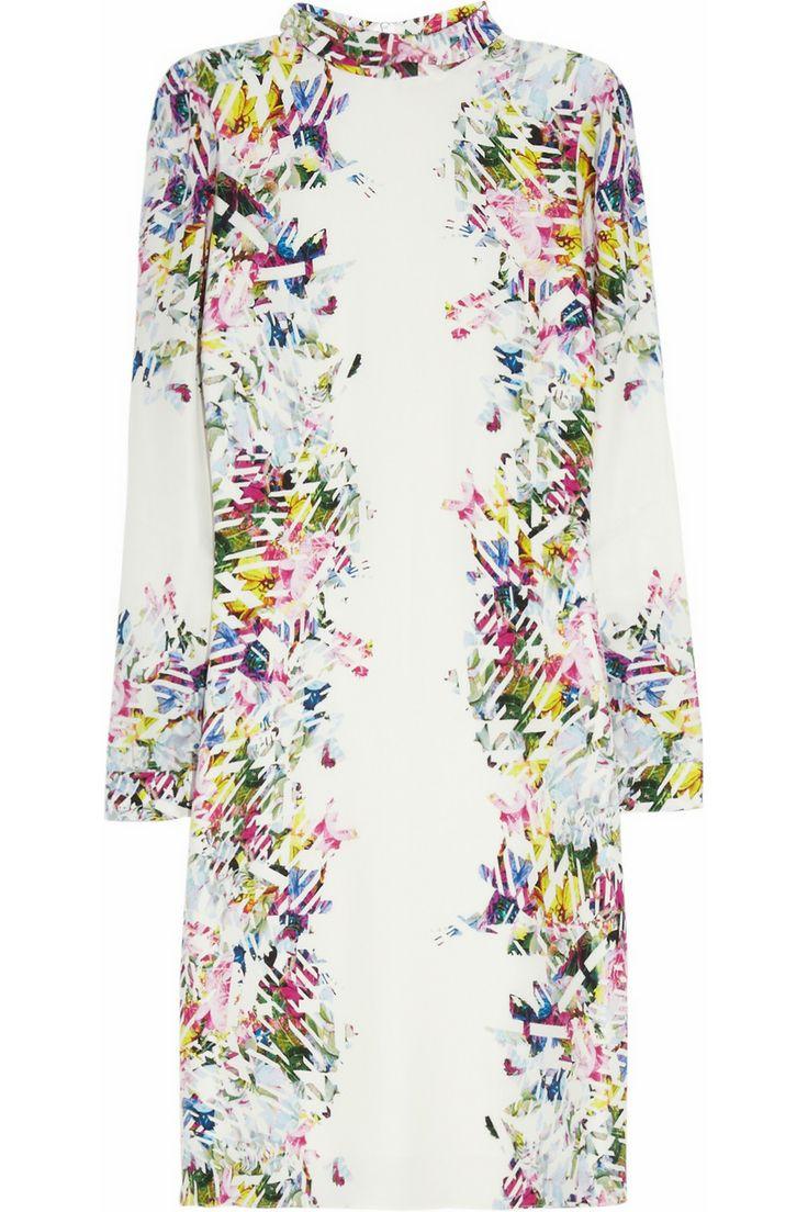 Erdem - Felicia printed silk dress