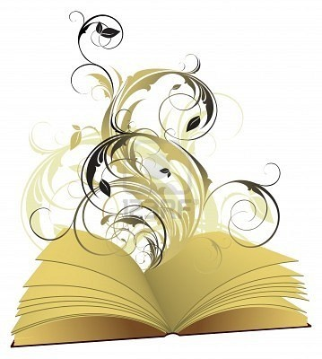 open book. This would mae a cool tattoo.