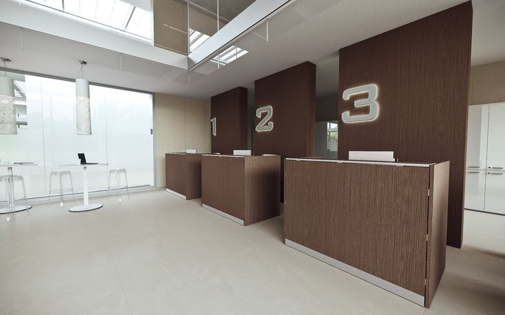 #DV703 #Qubo Minimalism and clean design. This collection showcases a modular reception desk solution. It's characterized by its simple in-line modules for defining the space of the first contact, giving the reception a fresh and dynamic image. Design by Antonio Morello