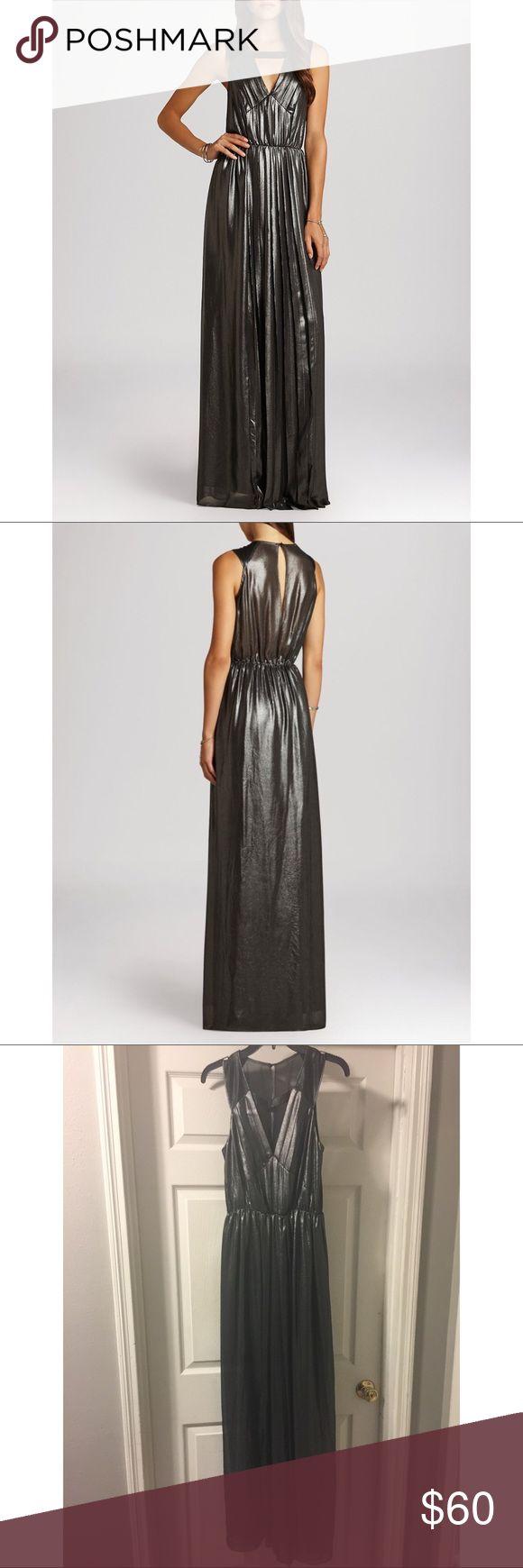 Selling this BCBG Metallic Black Maxi Dress on Poshmark! My username is: taramnt3. #shopmycloset #poshmark #fashion #shopping #style #forsale #BCBGeneration #Dresses & Skirts