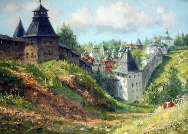 by Russian Artist Vladimir Zhdanov