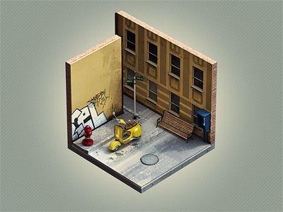 "Corners ""Street"" by Den Brooks"
