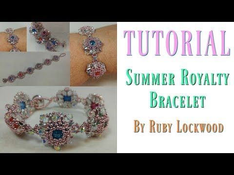 (Tutorial) Summer Royalty Bracelet ( Video 193) - YouTube