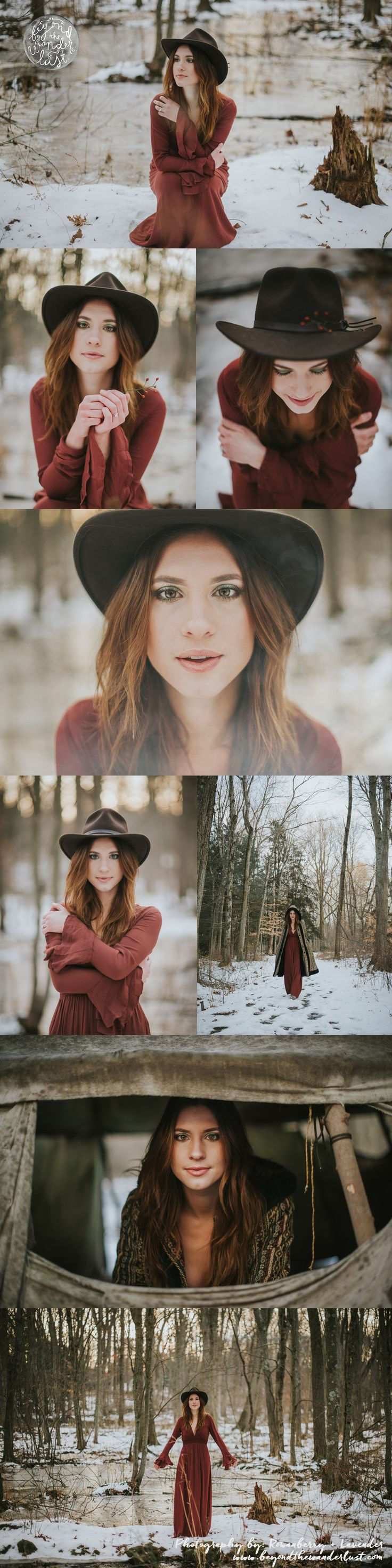 portraits >> winter photography