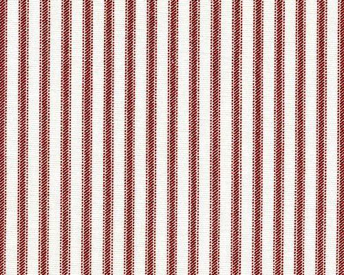Vintage Baseball Stripe Red