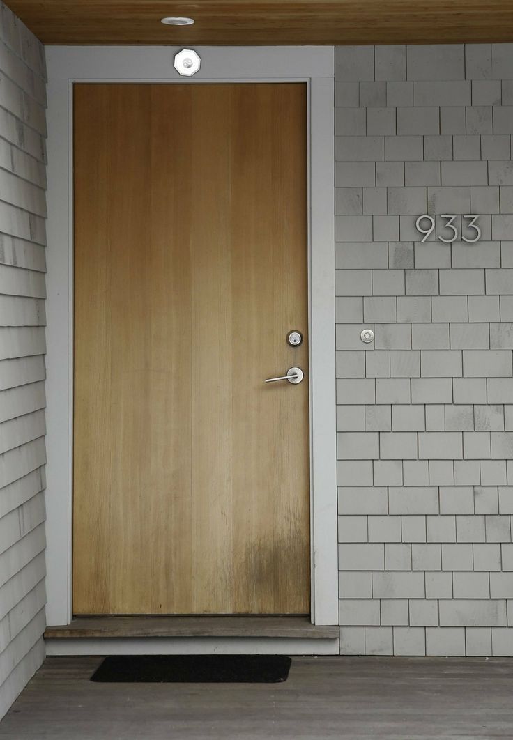 17 best architecture images on pinterest cement house for Minimalist house numbers