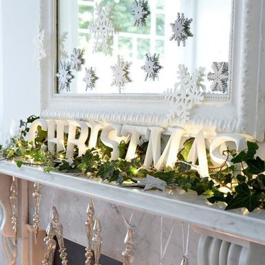 1000 images about ideas para decorar chimeneas en navidad - Chimeneas para decorar ...