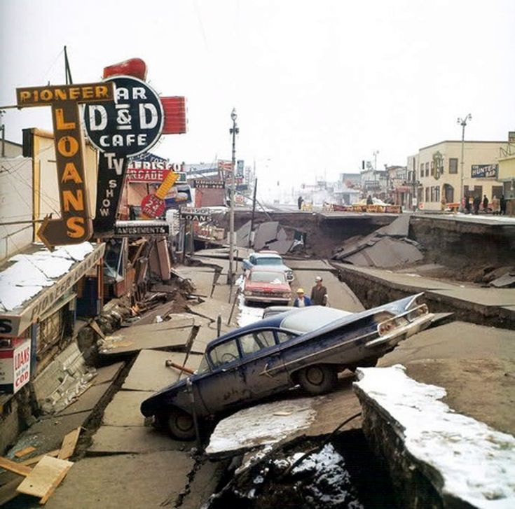 1964 Alaska Earthquake Fatalities