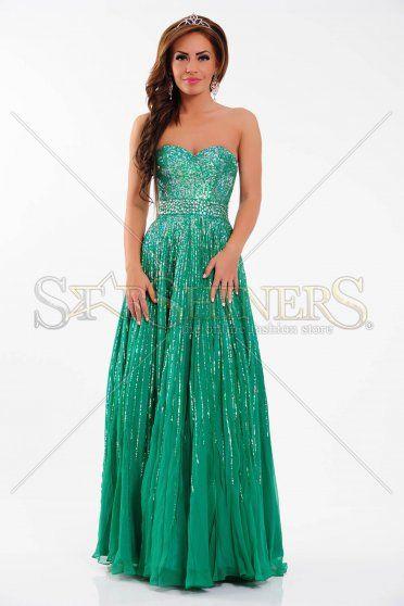 Rochie Sherri Hill 8437 Green