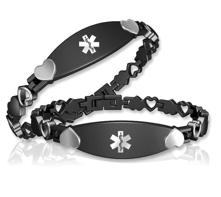 Free Medical Alert Bracelets | alerta médica pulsera-Brazaletes y Pulseras-Identificación del ...