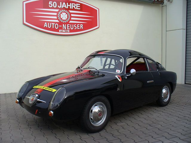 Abarth 750 Zagato Double Bubble