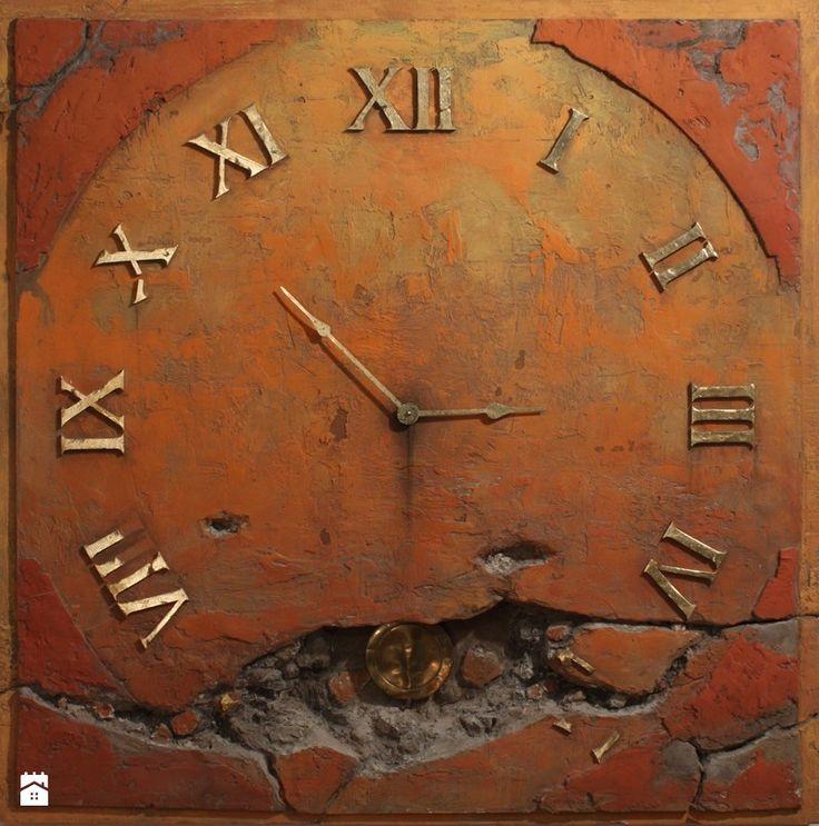 duży zegar ścienny - zdjęcie od ZegaryDesign - Gabinet - Styl Vintage - ZegaryDesign