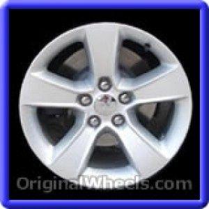 Dodge Charger 2011 Wheels & Rims Hollander #2405  #Dodge #Charger #DodgeCharger #2011 #Wheels #Rims #Stock #Factory #Original #OEM #OE #Steel #Alloy #Used
