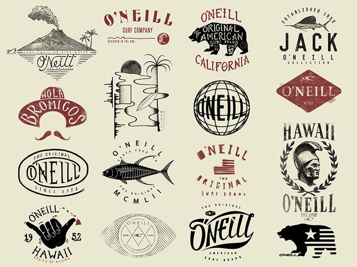 See all 78 t-shirt graphics in this series: http://www.raydombroski.com/blog/2016/5/18/oneill-t-shirt-graphics