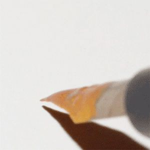 Gold flecked ink… gif this is so calming