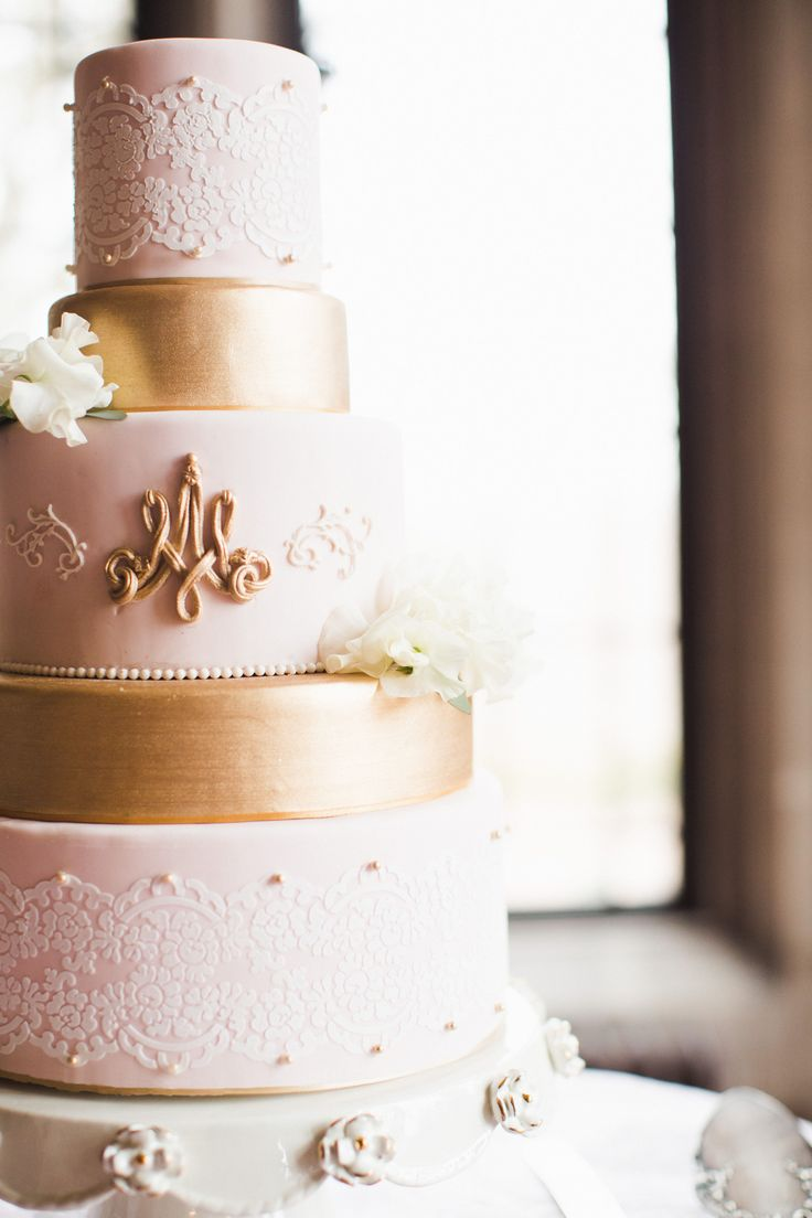 100+ best Gold Wedding Cakes images on Pinterest | Cake wedding ...