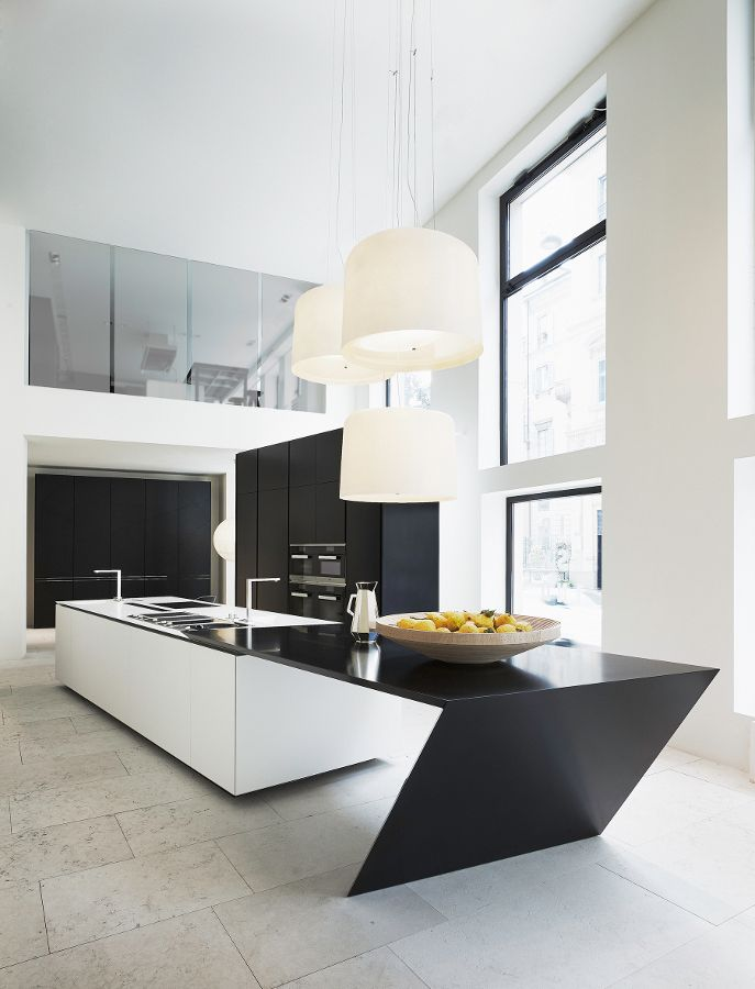 Sharp designed by Daniel Libeskind - The new project for Varenna #kitchen @Poliform|Varenna MYLIFE