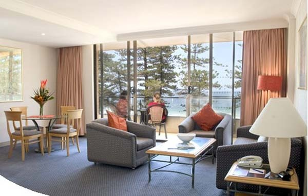 Suite Room Novotel Sydney Manly Pacific