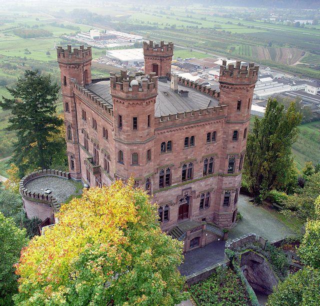 Schloss Ortenberg in the Black Forest, near Offenburg, Germany - Wikipedia