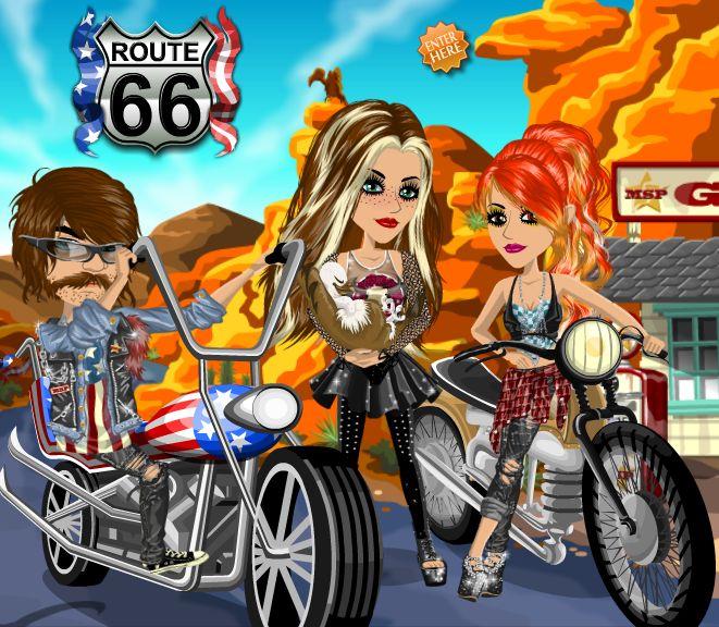 Route 66 theme #moviestarplanet #MSP www.moviestarplanet.com