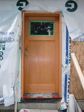 Best New House Doors Images On Pinterest Front Doors - Shaker front door