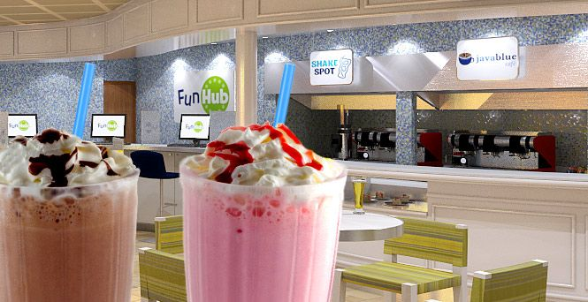 Need a break from all the fun and sun? Grab something downright refreshing at Shake Spot, where we offer more than just your average shake. With a variety of tempting, handcrafted shakes and indulgent floats, Shake Spot is your cool spot for something sweet.