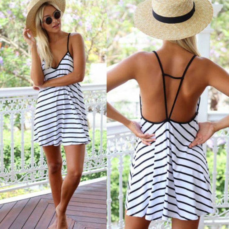 Sexy strap Chiffon Dress for Women summer floral mini dress printing Beach dresses women vestidos