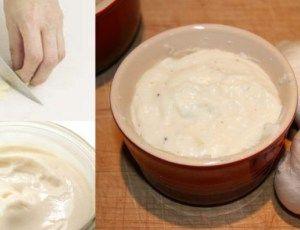 O melhor do mundo molho de alho para churrasco com creme de leite - Receitas e Dicas Rápidas