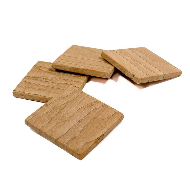 S/4 Sandstone Coasters