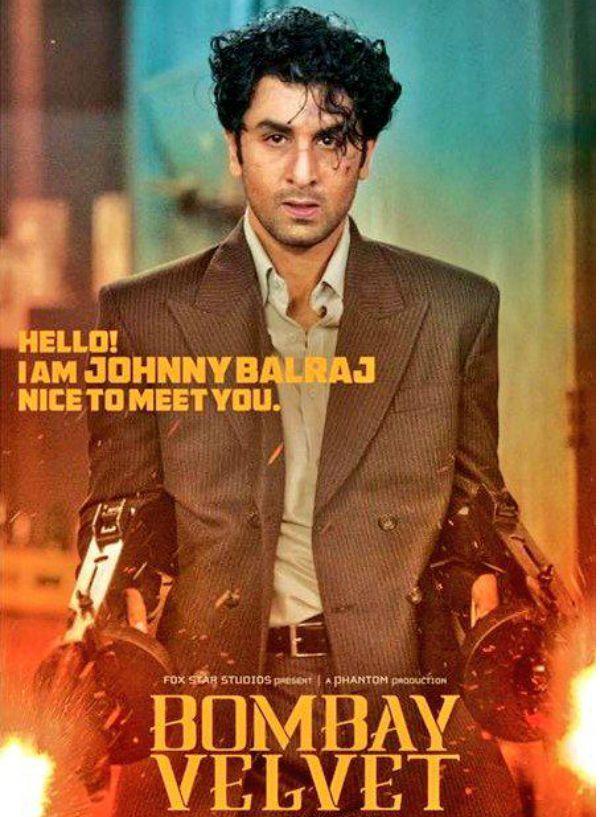 ranbeer kapoor's first poster release