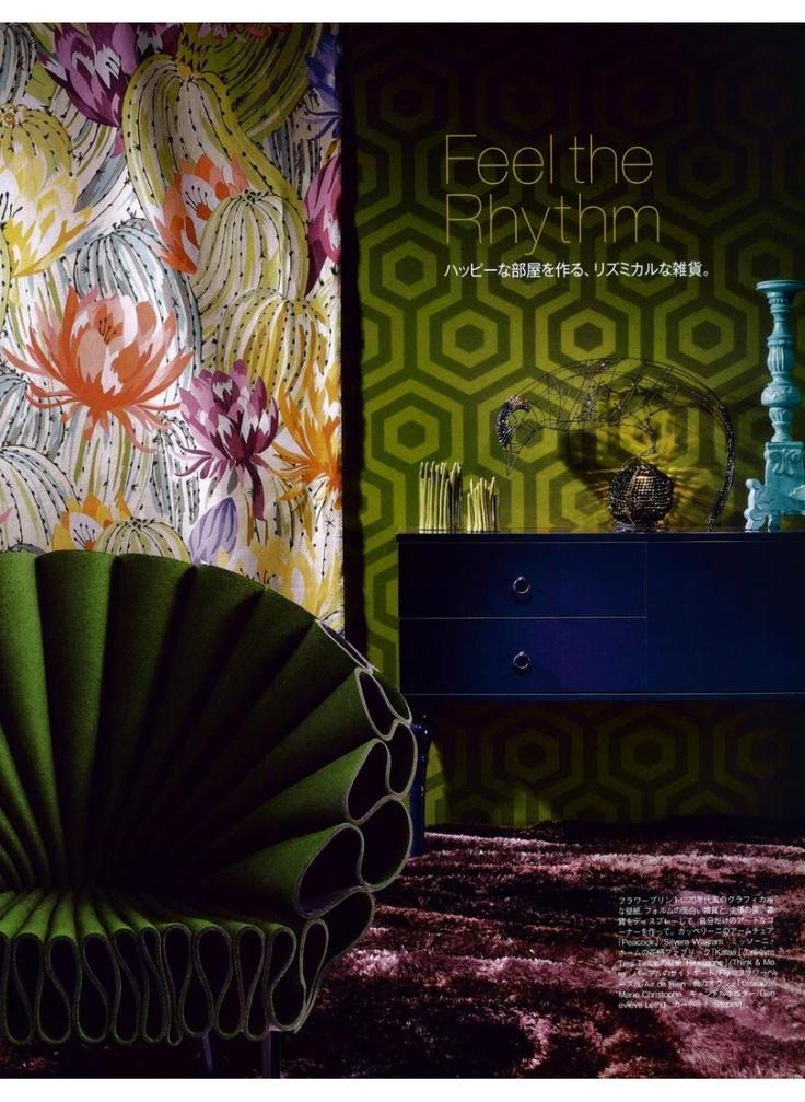 CAPPELLINI Peacock by Dror on Madama Figaro Japan