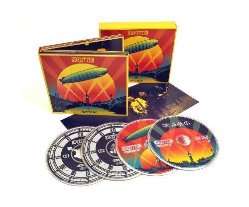 Celebration Day (Deluxe Edition 2CD, 1 Blu-Ray, 1 DVD (CD sized digipak)