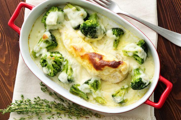Ínyenc rakott brokkoli 500 kalória alatt - Recipe..