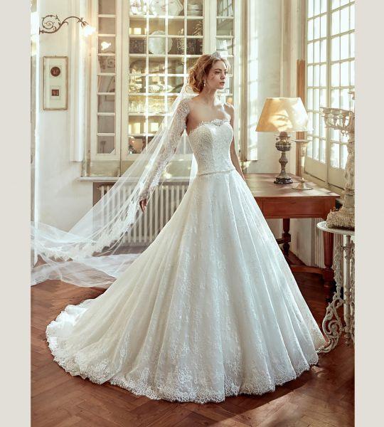 60 vestidos de novia corte princesa 2017 que querrás lucir ¡Elige el tuyo! Image: 40
