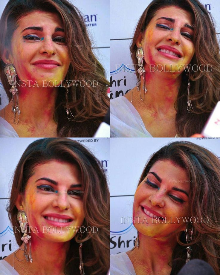 @BOLLYWOOD Actress Jacqueline Fernandez pictures from at #ZoomHoliParty…